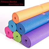 Fitness Mantra High Density Yoga Mat for Yoga Exercise and Gym Workout. 6mm