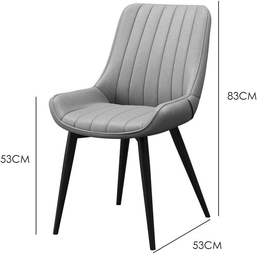 Dining chair WGZ Chaise de Salle à Manger Moderne Minimaliste pour Maison, Restaurant, café, Ordinateur B