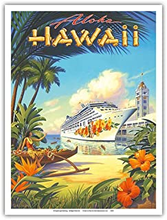 vintage cruise ship posters