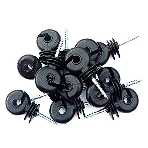 100 x Electric Fencing Ring Insulators