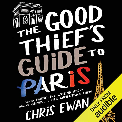 Good Thief's Guide to Paris, The cover art
