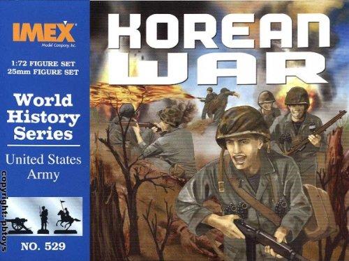 IMEX imex529–Set da 1/72Corea di Guerra: US Fanteria Modellino in plastica