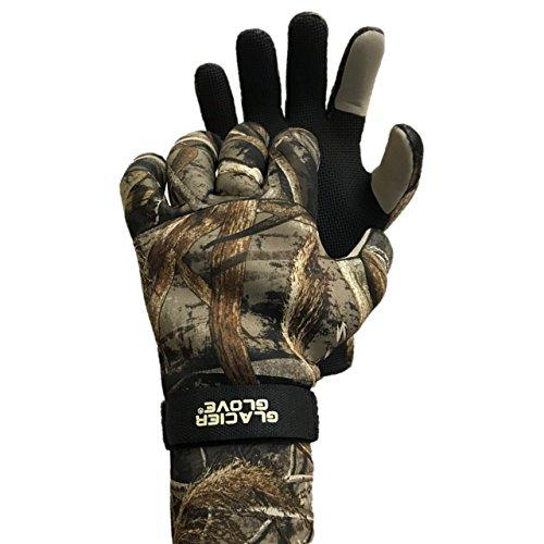 Glacier Glove Bristol Bay Neoprene Hunting Glove, Max 5 , Large