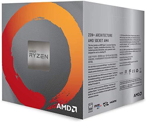AMDRyzen53400GwithWraithSpirecooler3.7GHz4コア/8スレッド65W【国内正規代理店品】YD3400C5FHBOX