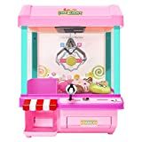 The Toy Grabber Claw Machine for Kids,Indoor Arcade Gams, Ideal for Use with Small Toys / Candy,Features LED Lights and Sound Effects, Mini Candy Claw Toys for 1 2 3 4 5 Year Old Boys Girls Best Gift
