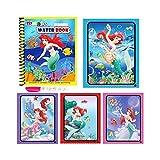 Logo FC Pluma Montessori for Colorear Doodle Libro & Magic Pintura Tablero de Dibujo for extraer Agua de los niños Juguetes mágicos Libro Regalo de cumpleaños (Color : J)