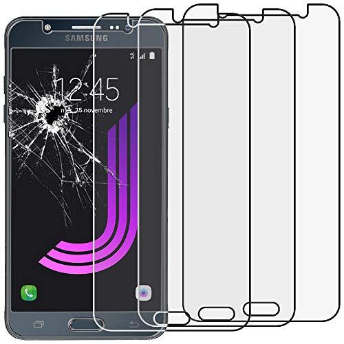 ebestStar - [Lote x3 Cristal Templado Compatible con Samsung J7 2016 Galaxy...