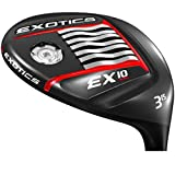 Tour Edge Golf- 2017 Exotics EX10 Fairway Wood 15#3 Stiff Flex [Aldila Rogue MAX 65]