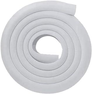 protector de parachoques de mesa de espuma de goma suave para ni/ños para prueba de beb/é Protector de borde y protector de esquina 12 topes de esquina Blanco 5M