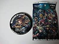 ディシディア ファイナルファンタジーNT ユニバーサルスタジオジャパン限定 USJ コレクタブル缶バッジ FF ウォーリアオブライト
