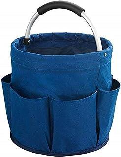 WENKO Panier universal p produits d'entretien, Polyester, 28 x 26.5 x 28 cm, Bleu