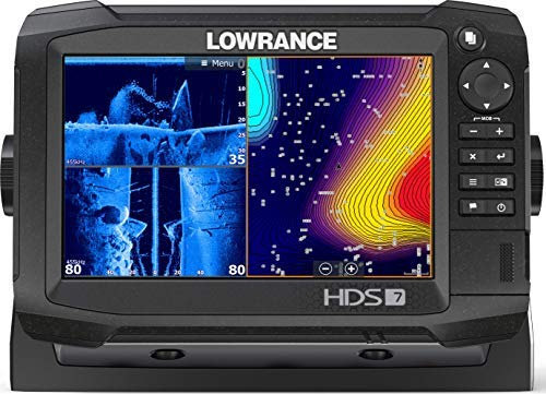 Price comparison product image HDS-7 Carbon - 7-inch Fish Finder with TotalScan Transducer and C-MAP US Enhanced Basemap Installed