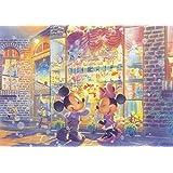 108ピース ジグソーパズル ディズニー 夕暮れのトイショップ 【光るジグソー】(18.2x25.7cm)