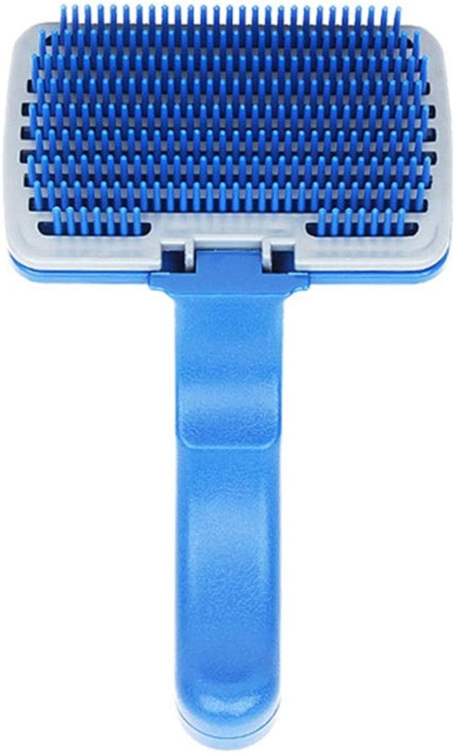 Hair Removal Tool, Pet Comb, Soft Material, No Harm to Cat and Dog Skin, Quick Massage Bath (Size   12cm)