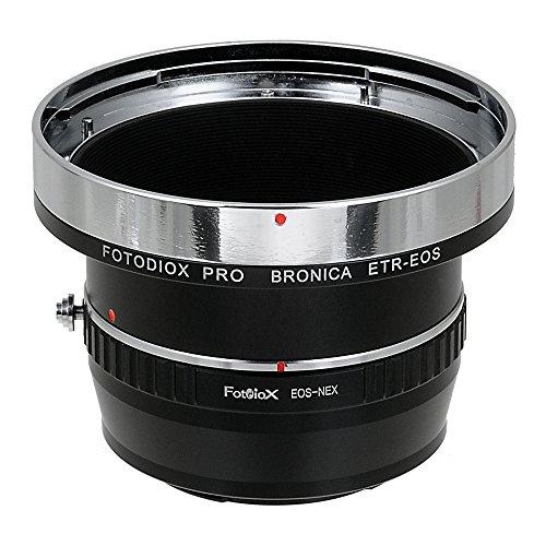 Fotodiox Pro Adaptores de Objetivo, Lentes Bronica ETR (ETRC, ETRS, ETR-C, ETRSi)...