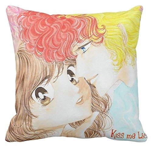 Pillow Cuscino Personalizzato 40X40 Kiss Me Licia Mirko Bee HIVE Cartone Anni 80 Idea Regalo