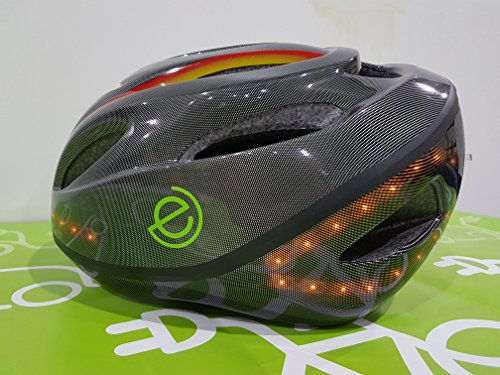 Casco con luci LED