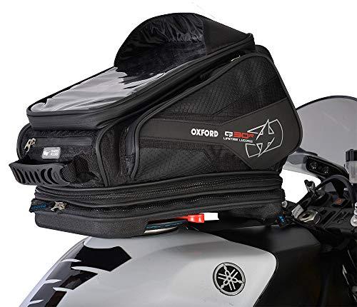 Oxford Q30R OL270 30 Liter QR Tank-Tasche mit Schnellverschluss + Gepäcknetz