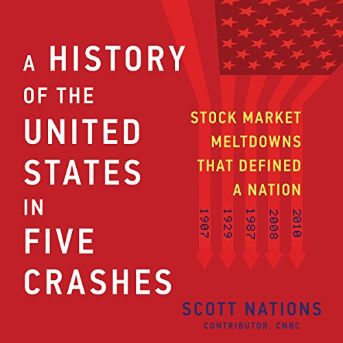 A History of the United States in Five Crashes audiobook cover art