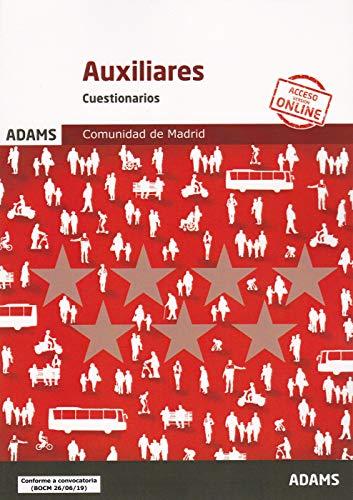 Cuestionarios Auxiliares Administrativos de la Comunidad de Madrid