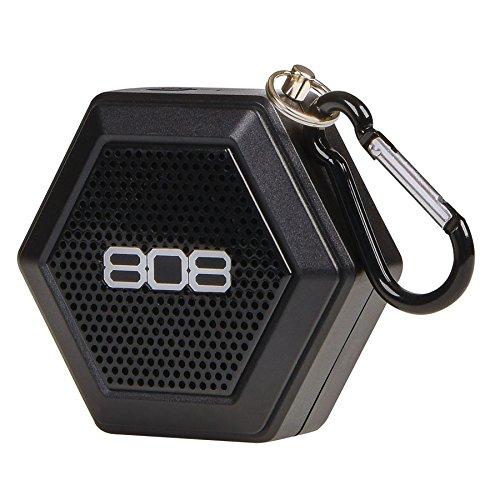 Audiovox 153500808Audio Hex Tether altoparlante Bluetooth nero
