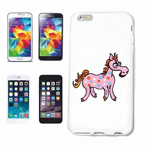 Bandenmarkt mobiele telefoonhoes compatibel met Samsung Galaxy S7 Edge ontdekt (bevlekt) paard cartoon plezier fun cult film serie cartoon plezier fun koel hardcase bescherming