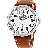 Shinola The Runwell Reloj de hombre cuarzo 47mm correa de cuero 10000010