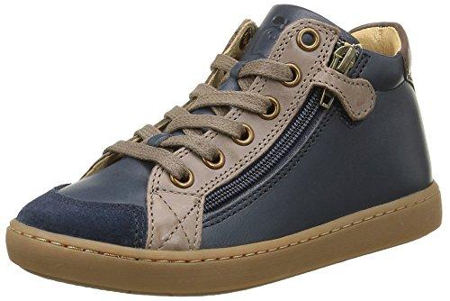 Shoo Pom Play Hi Bi, Sneakers Hautes Garçon, Bleu (Lipiz/Snow Navy/Taupe), 29 EU