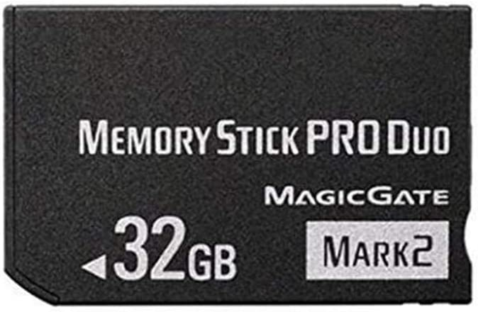 LILIWELL Original 32GB High Speed Memory Stick Pro Duo Mark2 32gb Cards PSP Game Camera Memory Card