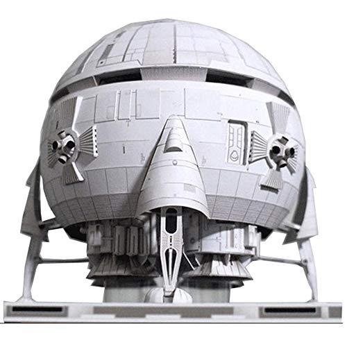 ELVVT Verjaardag Kerst Handmade Gift Ram B Lunar Spaceship Lunar Orbiter DIY Handgemaakte Aerospace Paper Model puzzel Toy 3D Puzzles Model Building Toy Children's