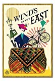 Mary Poppins Returns Winds in The East Poster Eiche Gerahmt