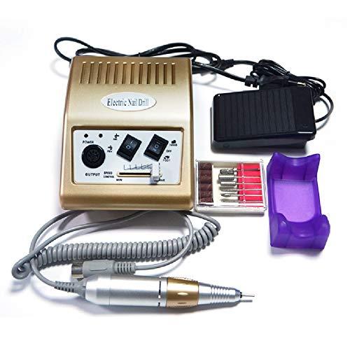 Amiao Elektrische Nail Boor Machine Professionele Nagel Bestand Manicure Pedicure voor het verwijderen van Acryl Nagels, Gel Nagels, Dunner en Smoothing Nagels