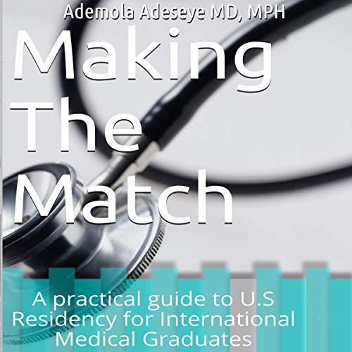 Making the Match audiobook cover art