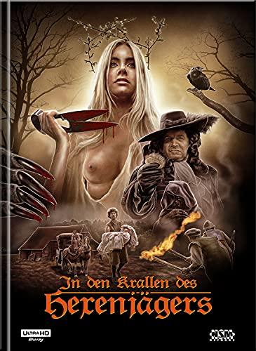 In den Krallen des Hexenjägers [4K UHD+Blu-Ray] - uncut - limitiertes Mediabook