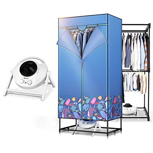 QIMO Wäschetrockner Tragbarer 1200W Wäschetrockner Energiesparender Digitaler Automatik-Timer Für Wohnhäuser Nasse Wäsche Für Den Innenbereich Warmlufttrocknungsgarderobe