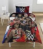 WWE Super 7Set de Funda de edredón, Multicolor, Cama Individual
