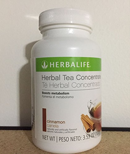 New HERBALIFE Herbal Tea Concentrate 3.53oz Flavor Cinnamon