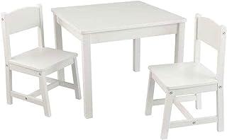 KidKraft 21201 Aspen Table and Chair Set - White