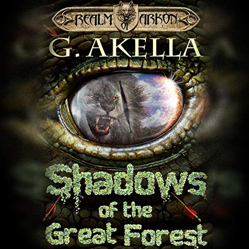 Shadows of the Great Forest audiobook cover art