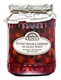 Krokus Sour Cherries en almíbar ligero 700 g - Pack de 6