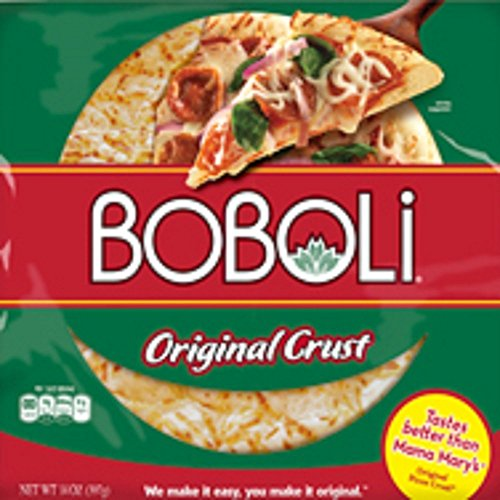 Boboli, Original Pizza Crust, 14oz Package (Pack of 3)