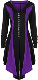 Gothic Vintage Womens Steampunk Victorian Swallow Tail Long Trench Jacket ,Kstare Overcoat Long Winter Outwear