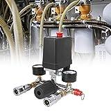 Compresor de presión interruptor de presión válvula reductora de aire piezas compresor montaje colector regulador para bomba de aire