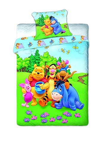 Winnie The Pooh Baby Lenzuola 160X 200Cm/70X 80Cm In Colori Assortiti