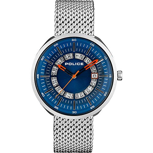 Police Dalian - Reloj solo tiempo para hombre, moderno, cód. R1453309001