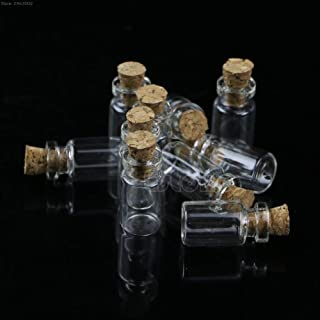 cb0c5cd1ffa2 Amazon.com: Glass Metal Stopper Bottle 3 Assorted