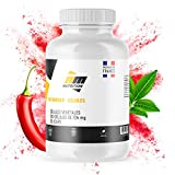Fat Burner Naturel • Brûleur de graisse 1 mois • Améliore l'énergie et la combustion des graisses • Thé vert • Caféine • Carnitine Carnipure® • 120 Gélules • Fabriqué en France • AM Nutrition