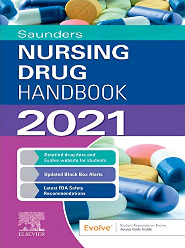 518kY6YsQaL - Saunders Nursing Drug Handbook 2021 E-Book