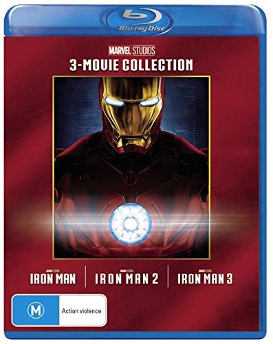 Iron Man 3 Film Collection (Iron Man/Iron Man 2/Iron Man 3)