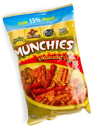 Munchies Snack Mix, Flamin' Hot, 8 oz